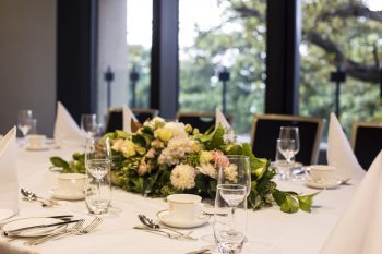 NSW Parliament Table Setting corporate catering Sydney