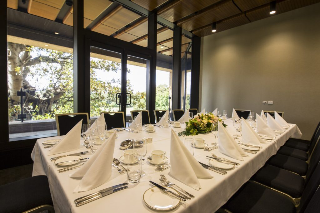 Private DIning overlooking the iconic Domain