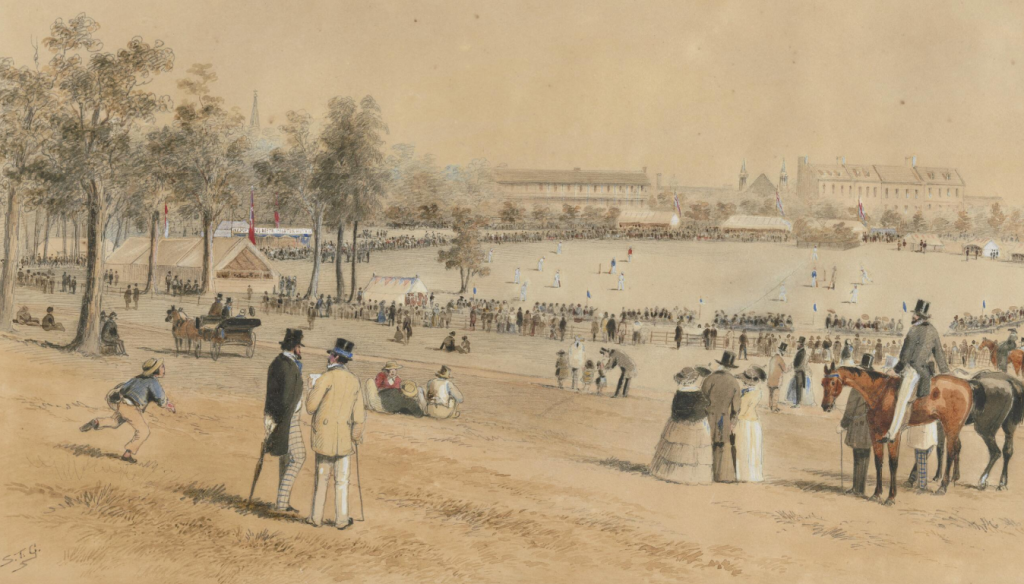 1857 First State Cricket Match
