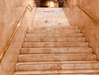Theatrette Room NSW Parliament - Marble Stairwell Entrance